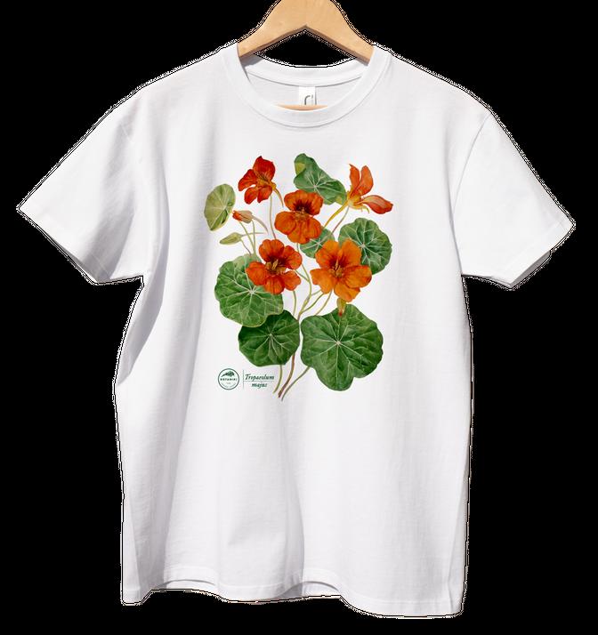 koszulka junior — nasturcja pnąca